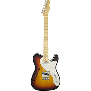 Fender American Elite Telecaster Thinline 3-Color Sunburst