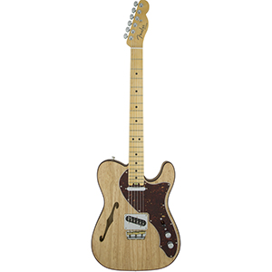 Fender American Elite Telecaster Thinline Natural * Demo