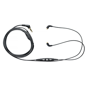 Shure Earphone Accessory Cables 3-Button