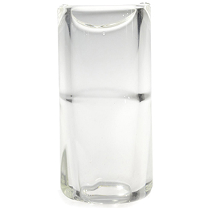 Rock Slide Glass Slide Clear Small