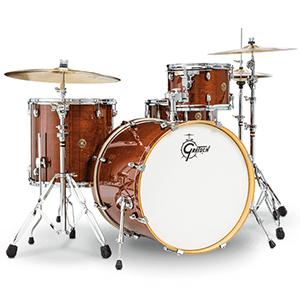 Gretsch Drums Catalina Maple 4-Piece Drum Kit Walnut Glaze - Shell Pack