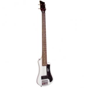 Hofner Shorty Bass Guitar White