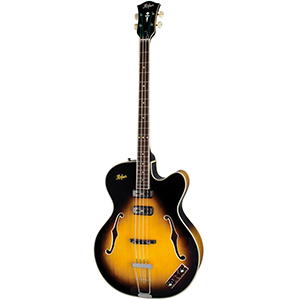 Hofner Contemporary President Reissue Bass- CT Sunburst