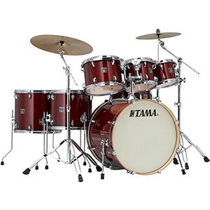Tama CL72SCCW Superstar Classic Lacquer Cherry Wine