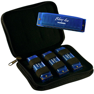 Hohner BIP Blue Ice Harmonica Pack