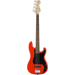 Squier Affinity Series Precision Bass - Race Red