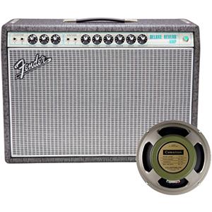 Fender 68 Custom Deluxe Reverb Gunmetal Gray