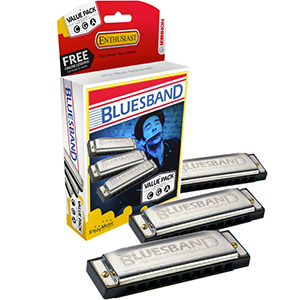 Hohner Blues Band Harmonica Pack