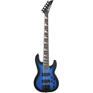 Jackson JS Series Concert Bass JS3V - Metallic Blue Burst