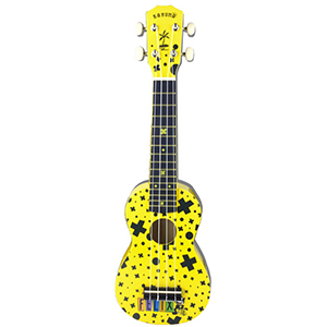 Kahuna Felix The Cat Soprano Ukulele - Yellow
