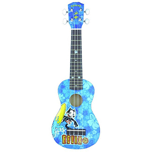 Kahuna Felix The Cat Soprano Ukulele - Surfer Blue