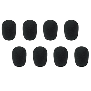 Peavey Windscreen Kit Black (8-Pack)