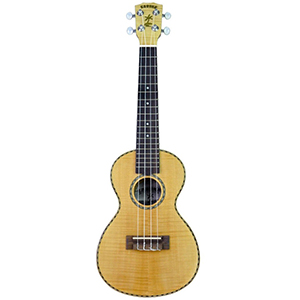 Kahuna KUC52FM Concert Uke Flamed Maple - Natural