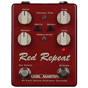 Carl Martin Red Repeat Tap Tempo