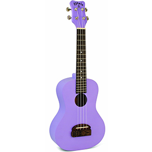 Tiki Concert Ukulele - Purple