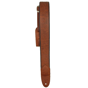LM Straps The Stockman Slim - Brown with Brown Trim