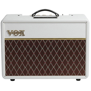 Vox AC10C1 Custom Limited Edition - White Bronco