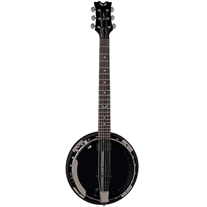 Dean Backwoods 6 Banjo w/ Pickup - Black Chrome