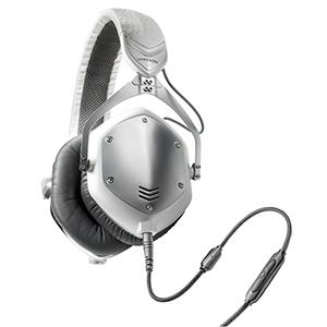 V-Moda M-100 White Silver