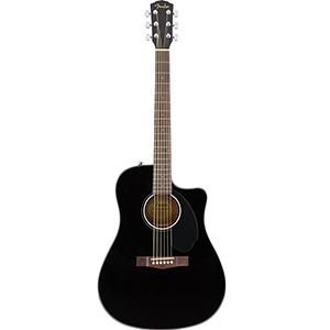 Fender CD-60SCE - Black