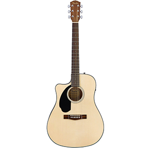 Fender CD-60SCE LH - Natural