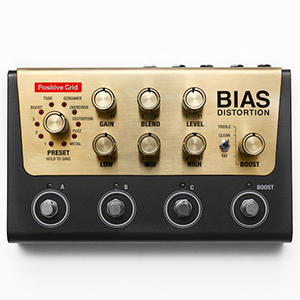 Positive Grid Bias Distortion Pedal