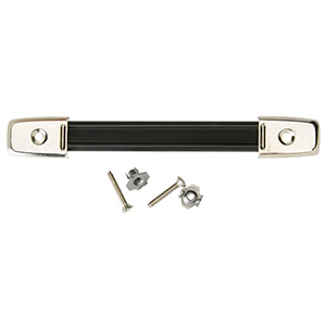 Peavey Black Retainer Strap with Chrome Hardware