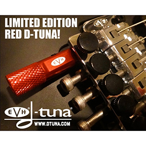 EVH D-Tuna Drop D Tuning System - Red