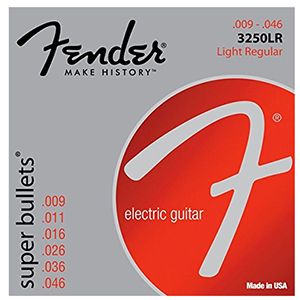 Fender 3250 Super Bullets - Light Regular