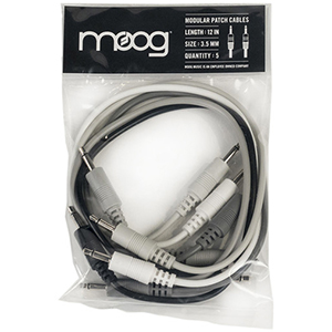 Moog 12-Inch Patch Cables for Mother-32 Synthesizer 5 Pack