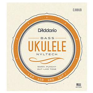 Daddario EJ88UB Nyltech Ukulele Bass