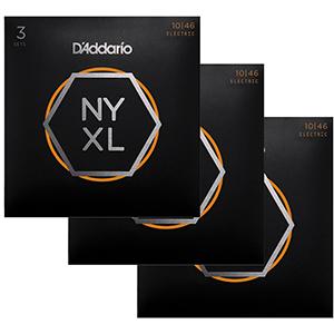 Daddario NYXL1046 3-Pack