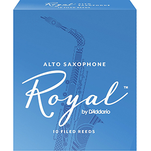 Rico Royal Alto Sax Reed - Box of 10