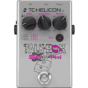 TC Helicon TalkBox Synth *Open Box