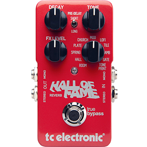 TC Electronic Hall of Fame Reverb V2