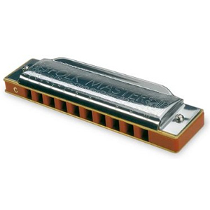Suzuki Folk Master Harmonica - Key of C
