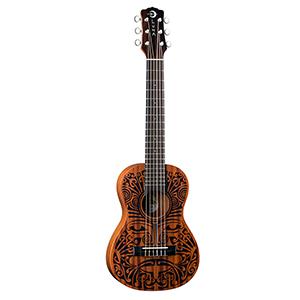 Luna Guitars Ukulele Tribal 6-String Mahogany