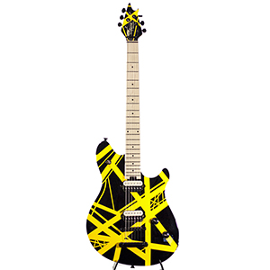 Pre-Owned EVH Wolfgang Special T.O.M Black Yellow Stripe