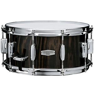 Tama Soundworks Snare Drum - Black Lacebark Pine