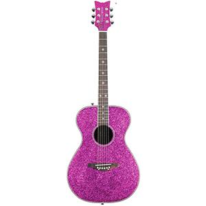 Daisy Rock Pixie Acoustic - Pink Sparkle