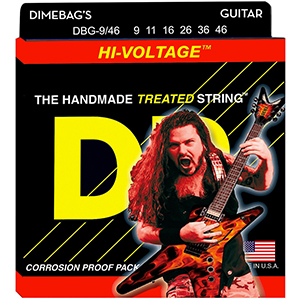 DR Dimebag Darrell Hi-Voltage Electric Guitar - Medium Lite