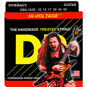 DR Dimebag Darrell Hi-Voltage Electric Guitar - Medium Heavy