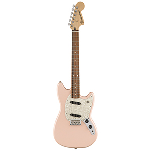Fender Mustang Pau Ferro Fingerboard - Shell Pink
