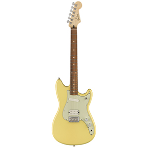 Fender Duo-Sonic HS - Canary Diamond