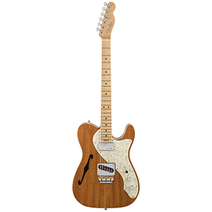 Fender 2017 Limited American Elite Mahogany Tele Thinline Natural