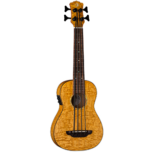 Luna Guitars Uke Bari-Bass Quilt Top
