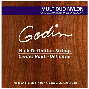 Godin MultiOud Nylon Strings