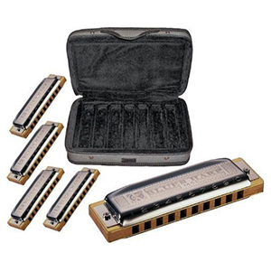 Hohner COB Blues Harp Bundle
