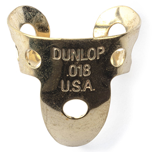Dunlop 37R Brass Fingerpick - .018mm