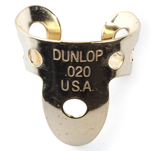 Dunlop 37R Brass Fingerpick - .020mm